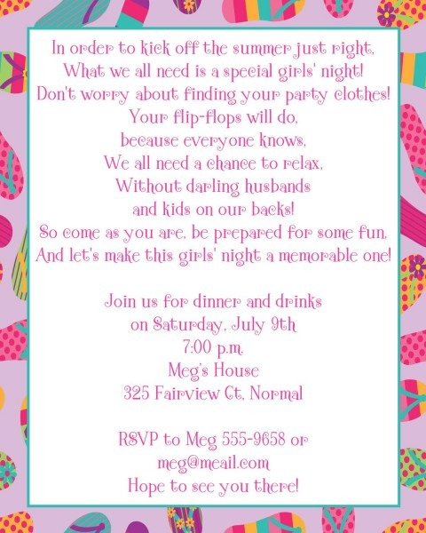 Flip Flop Summer Lovin Party Invitations By Expressionspaperie