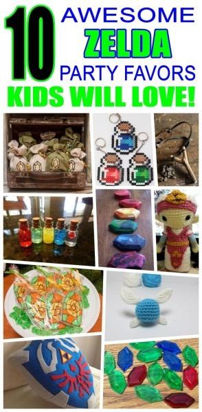 Zelda Party Favor Ideas