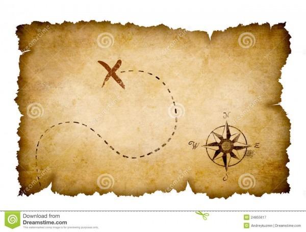 Free Treasure Map Outline, Download Free Clip Art, Free Clip Art