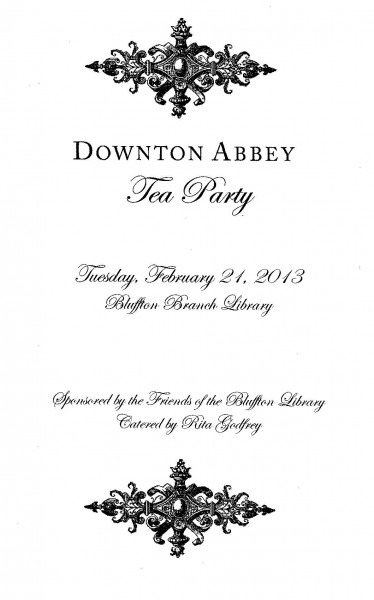 A Downton Abbey Afternoon Tea!