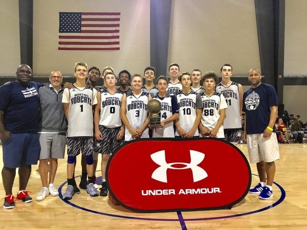 Boston Bobcats C O 2021 Win Under Armour Middle School