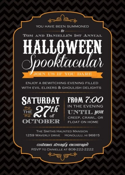 233 Best Halloween Images On Best Party Invitation Collection