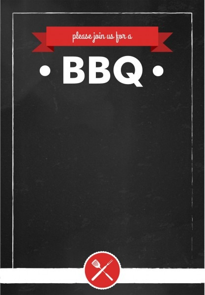 Bbq  Invitation Summer Party Free Printable  Barbecue
