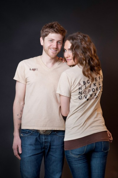 La Vie Diy  Adopt Stamped Shirt + An Announcement