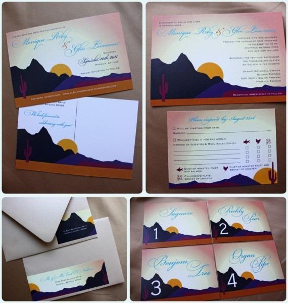 Arizona Desert Themed Wedding Save