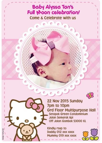 Party Hat  Baby Alyssa Hello Kitty Full Moon Party