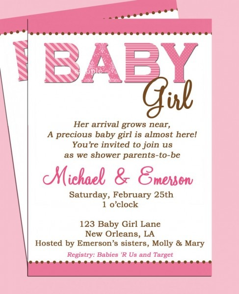 Best 2018! New Tips Of New Born Baby Party Invitation Wordings New