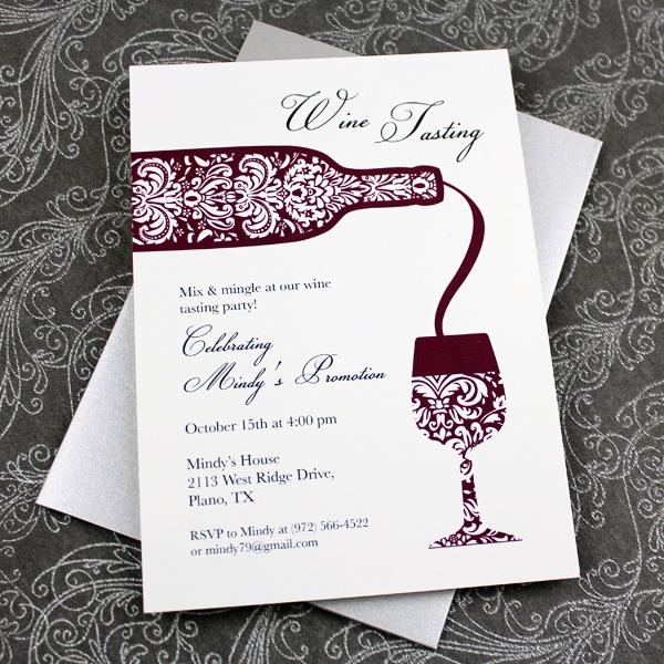 Invitation Template  Wine Party Invitation Templates Free