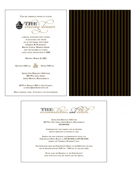 Corporate Invitations On Behance