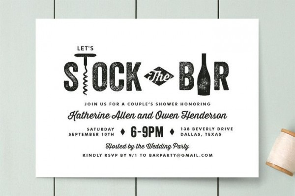 Adbeacadedfebdb Superb Stock The Bar Party Invitations