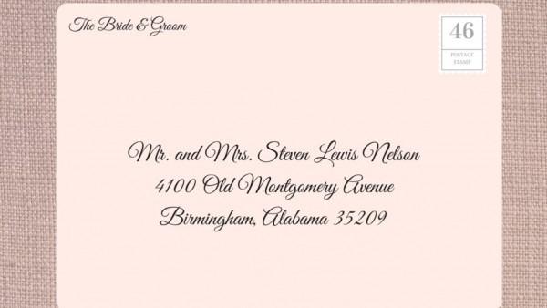 Addressing Wedding Invitations Ettiquette Invitation Names