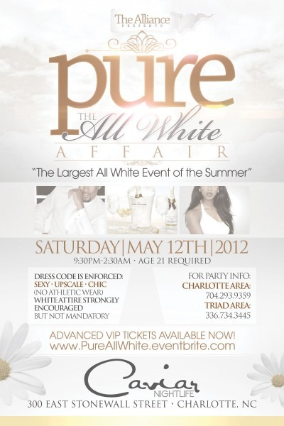 Summer All White Party Invitations Trend White Party Invitation