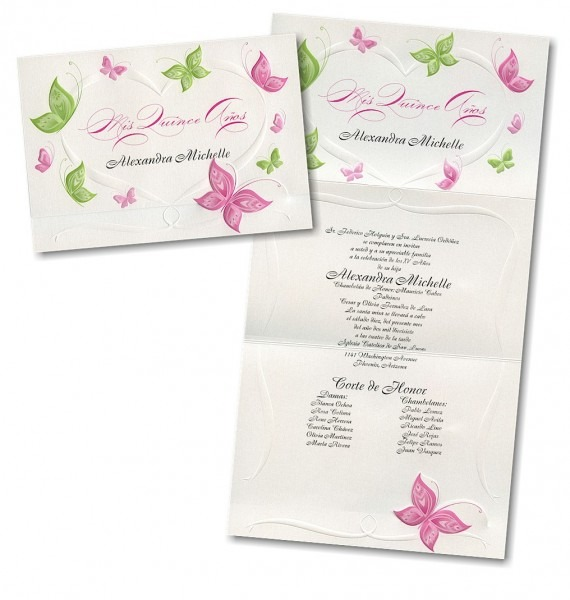 Butterfly Themed Quinceanera Invitations » Invitation Card Ideas