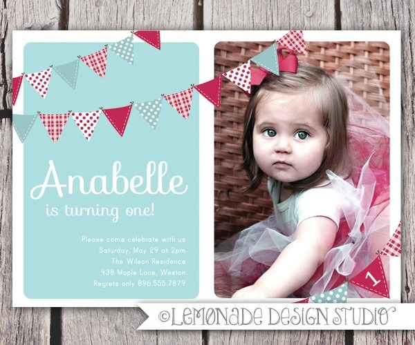 Amazing One Year Old Birthday Invitations Printable Stunning Which
