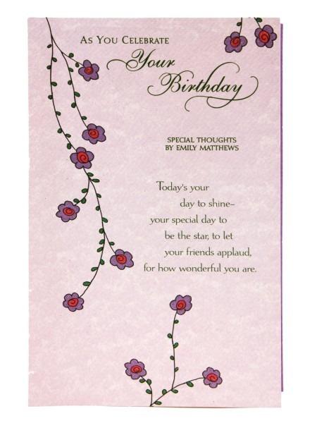 Archies Birthday Greeting Card