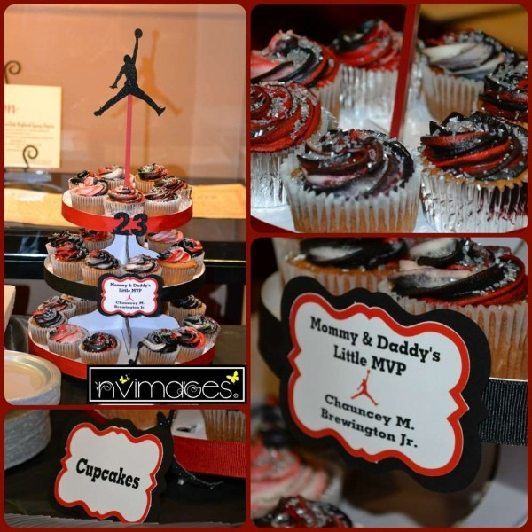 Michael Jordan Jumpman Baby Shower Party Ideas