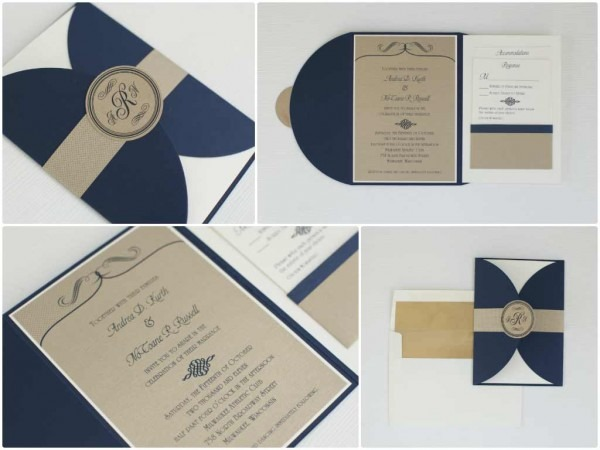 Fabulous Styles Of Wedding Invitations