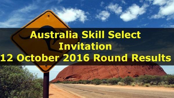 Australia Skill Select Invitation Rounds