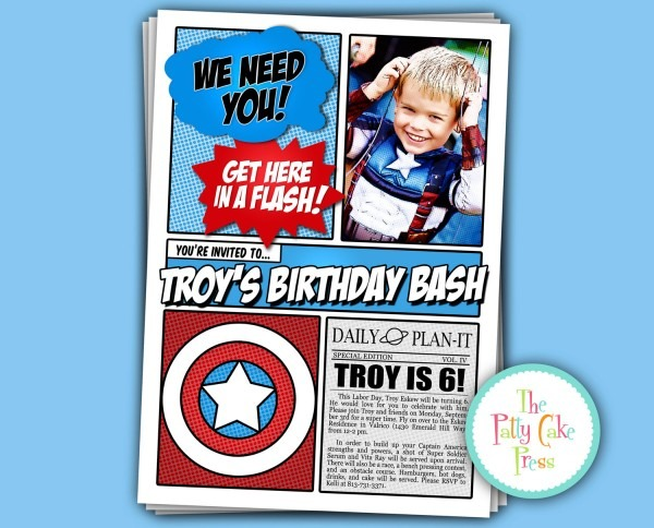 Avengers Party Invitations Avengers Party Invitations And The Foxy