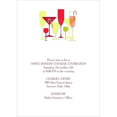 Cocktail Party Invitations Great Cocktail Party Invitation Wording