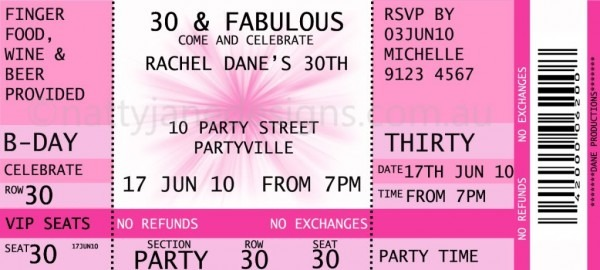 Collection Of Solutions For Concert Ticket Invitation Template Of