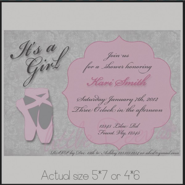 Amazing Of Unique Baby Shower Invitations Wording Ideas Baby