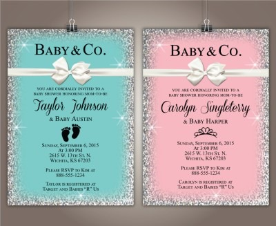 Awesome Tiffany Blue Baby Shower Invitations To Design Baby Shower