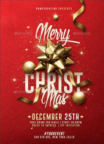 Classy Christmas Invitation