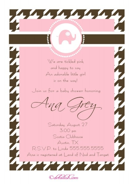 Baby Shower Invitation Rhymes Girl • Baby Showers Ideas