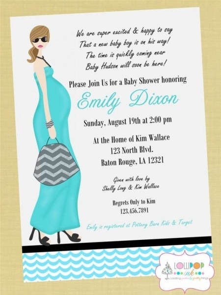 Baby Shower Invitation Poem • Baby Showers Ideas