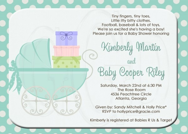 Baby Shower For Second Child