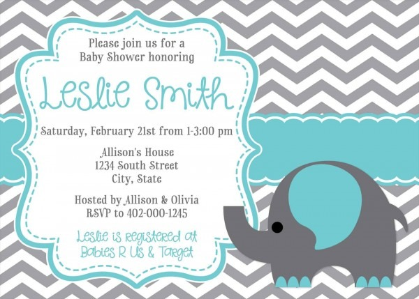 Baby Shower Electronic Invites