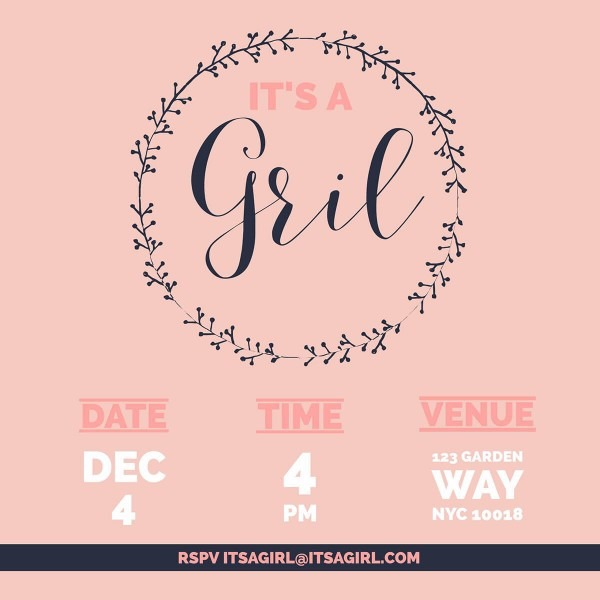 Make Your Own Baby Shower Invitations For Free