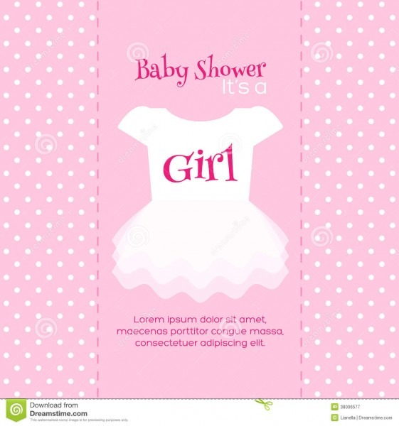 Baby Shower Dress Invitation Template Beautiful With Baby Shower