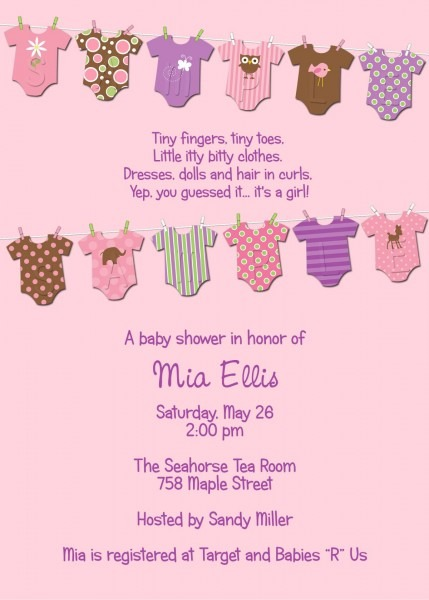 Email Invitations For Baby Shower New Email Baby Shower