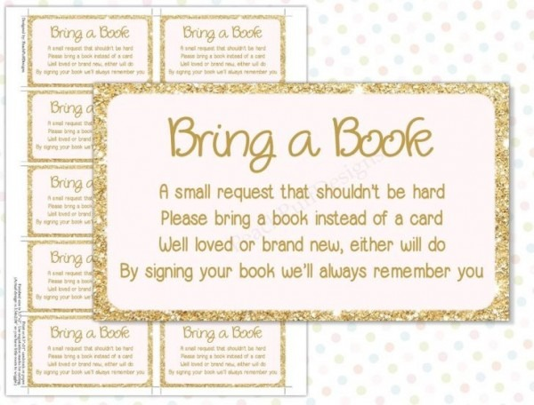 Baby Shower Request For Books Instead Of Cards
