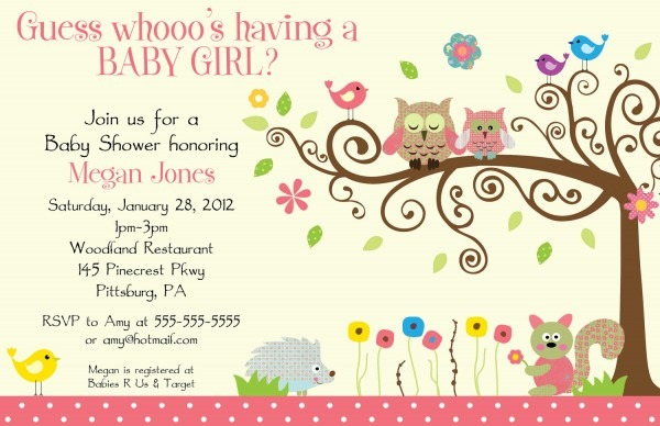 Baby Shower Invites Ideas