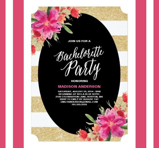 Bachelorette Party Invitation Templates Free Download New With