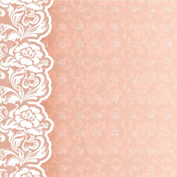 Background With Delicate Lace