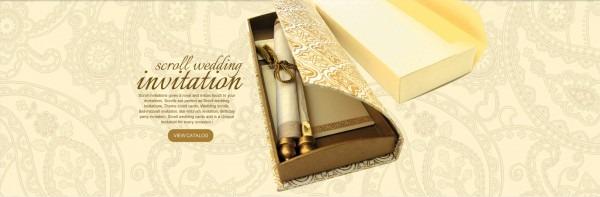 Scroll Invitations, Bat & Bar Mitzvah Invitations, Wedding