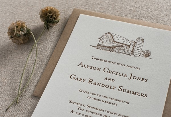 Barn Wedding Invitations Barn Wedding Invitations This Is The