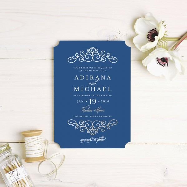 Design Beautiful, Unique Wedding Invitations Stress