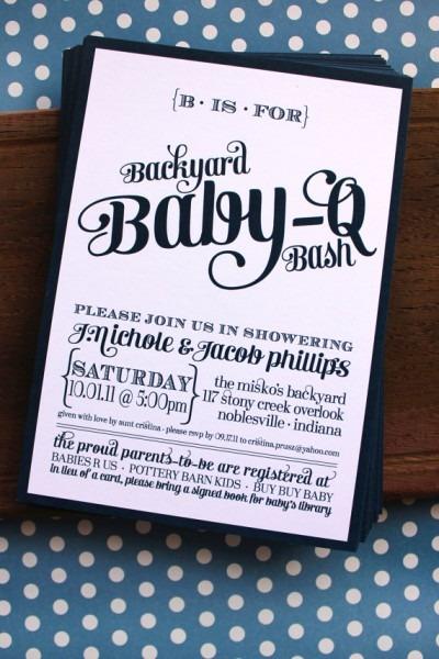 Baby Shower Invitation Template Bbq Baby Shower Invitations Free