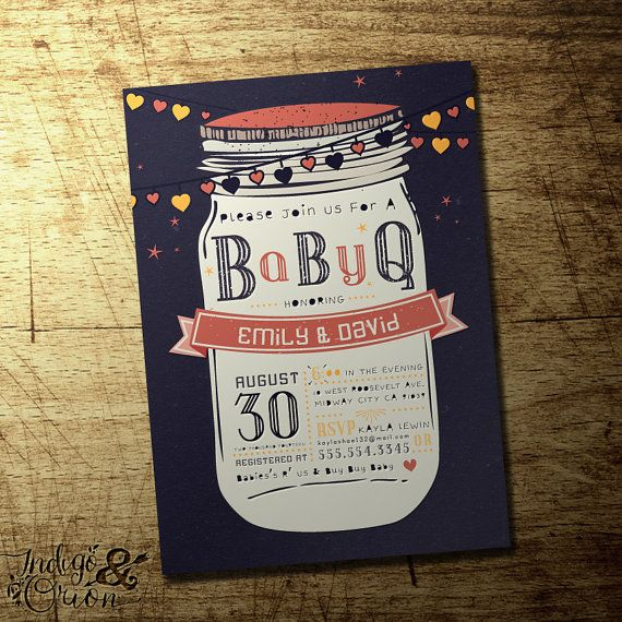 Bbq Baby Shower Invitations Bbq Baby Shower Invitations Along With