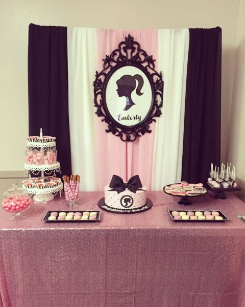 Vintage Barbie Birthday Party Ideas In 2018