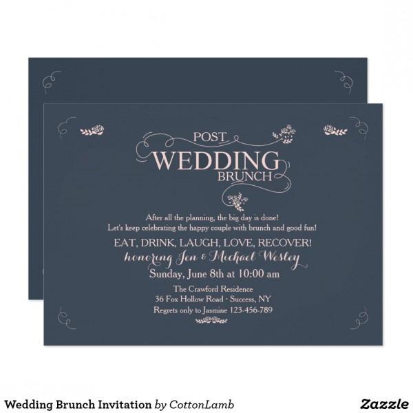 Wedding Brunch Invitation