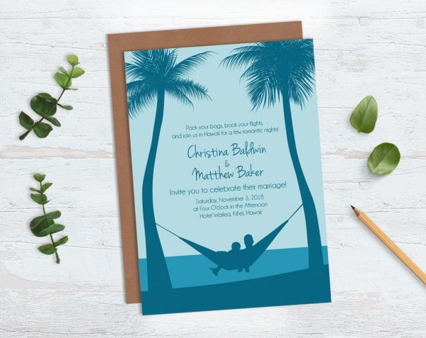 Guidelines For Destination Wedding Invitation Wording (with