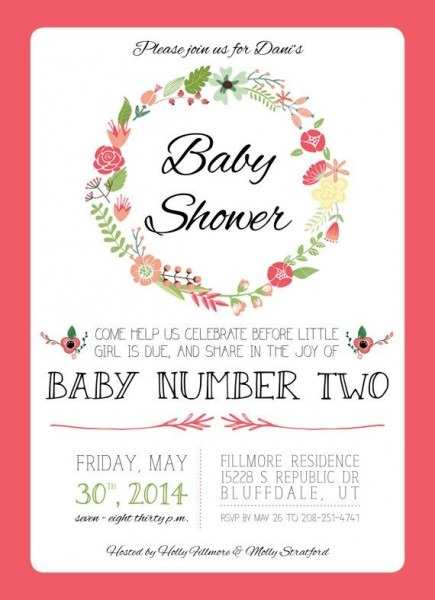 Second Child Baby Shower Themes