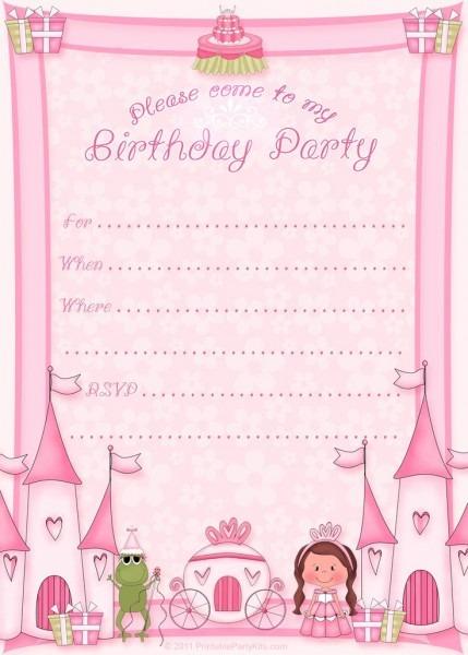 Fdbefadcaf Epic Free Customizable Birthday Invitation Templates