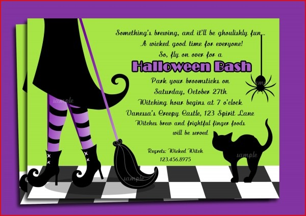 Best Halloween Party Invite Wording 75 For Your Invitations